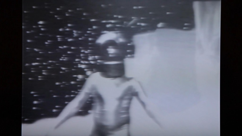 Space Helmet video loop